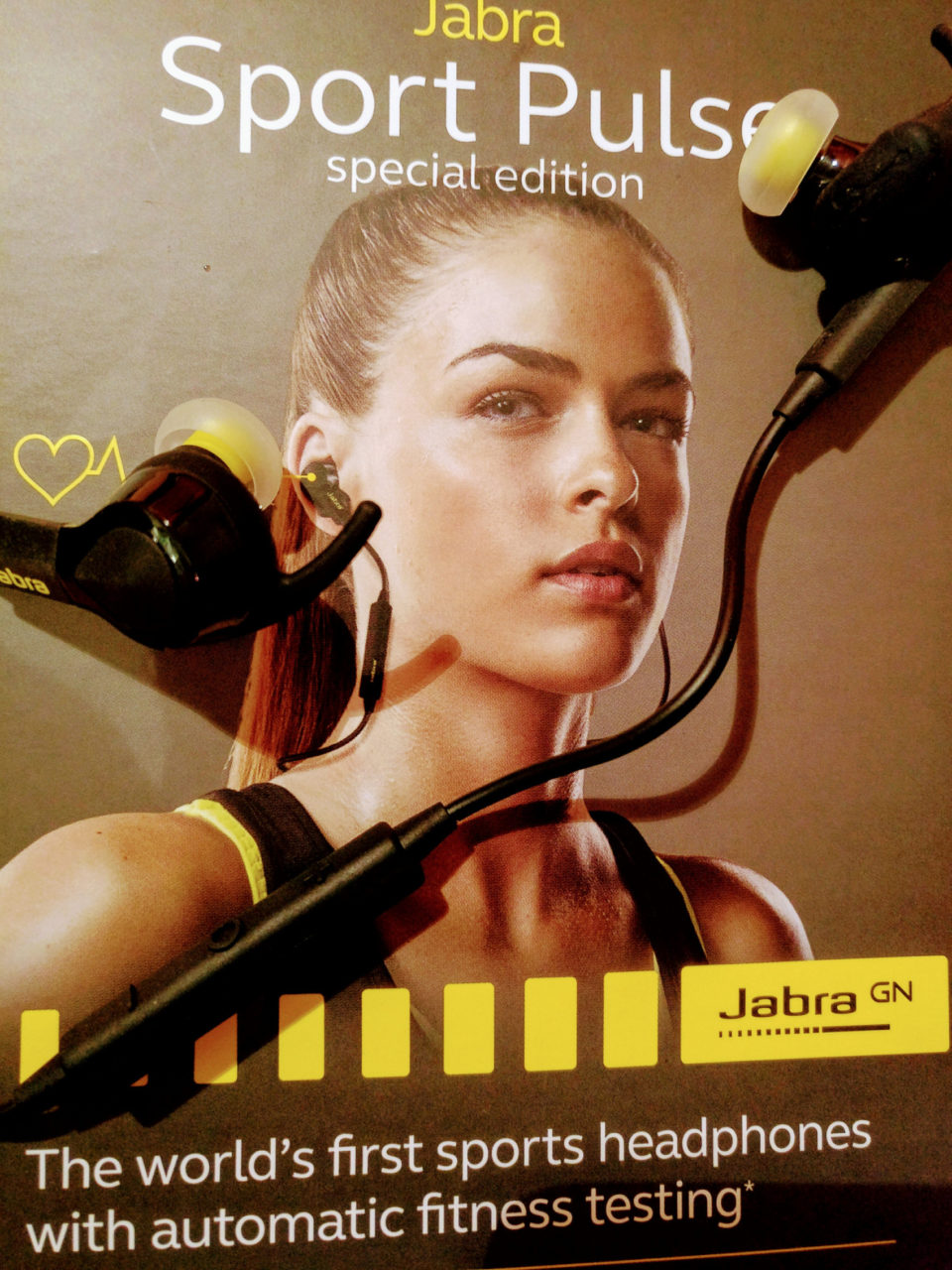 Jabra Sport Pulse Headset