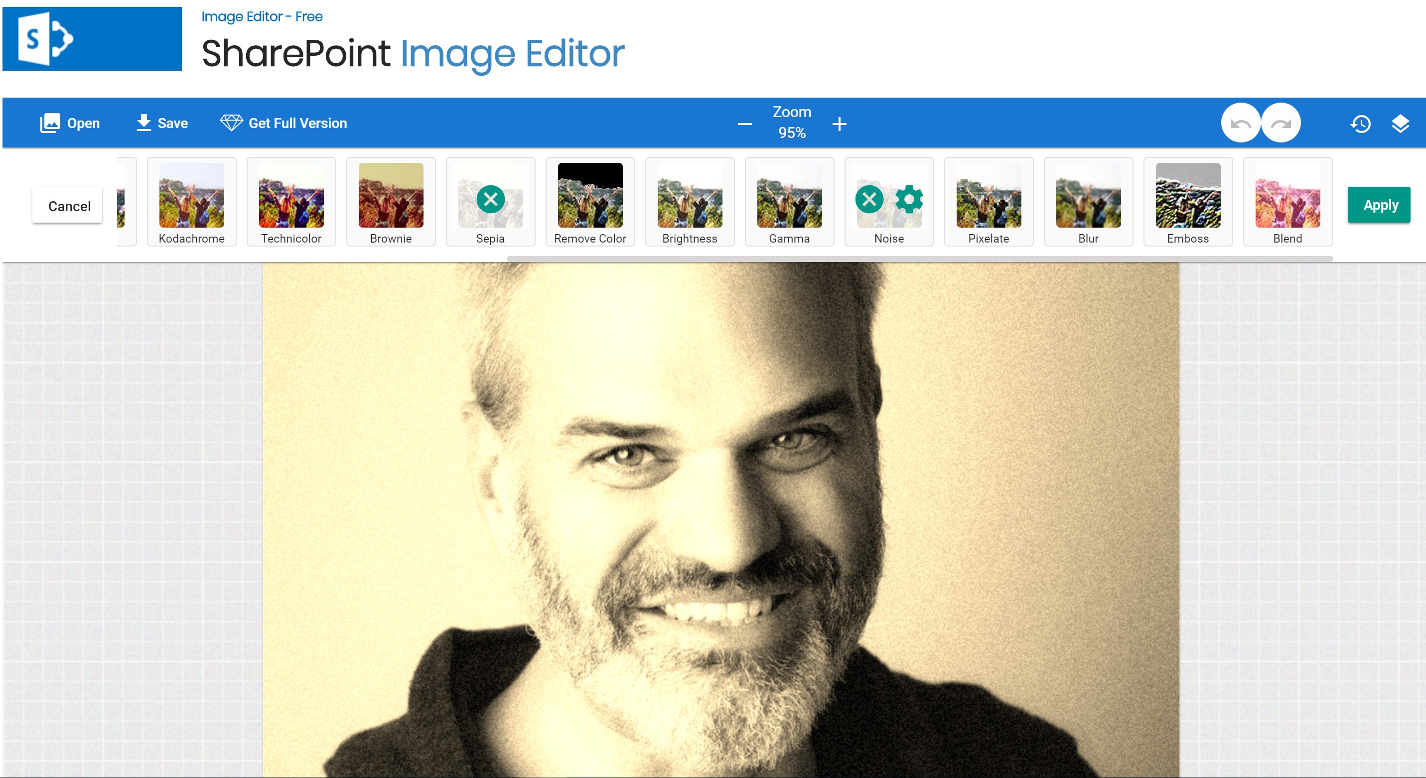 photo editing in sharepoint