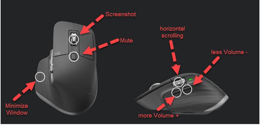 Logitech MXMaster3 Mouse 1