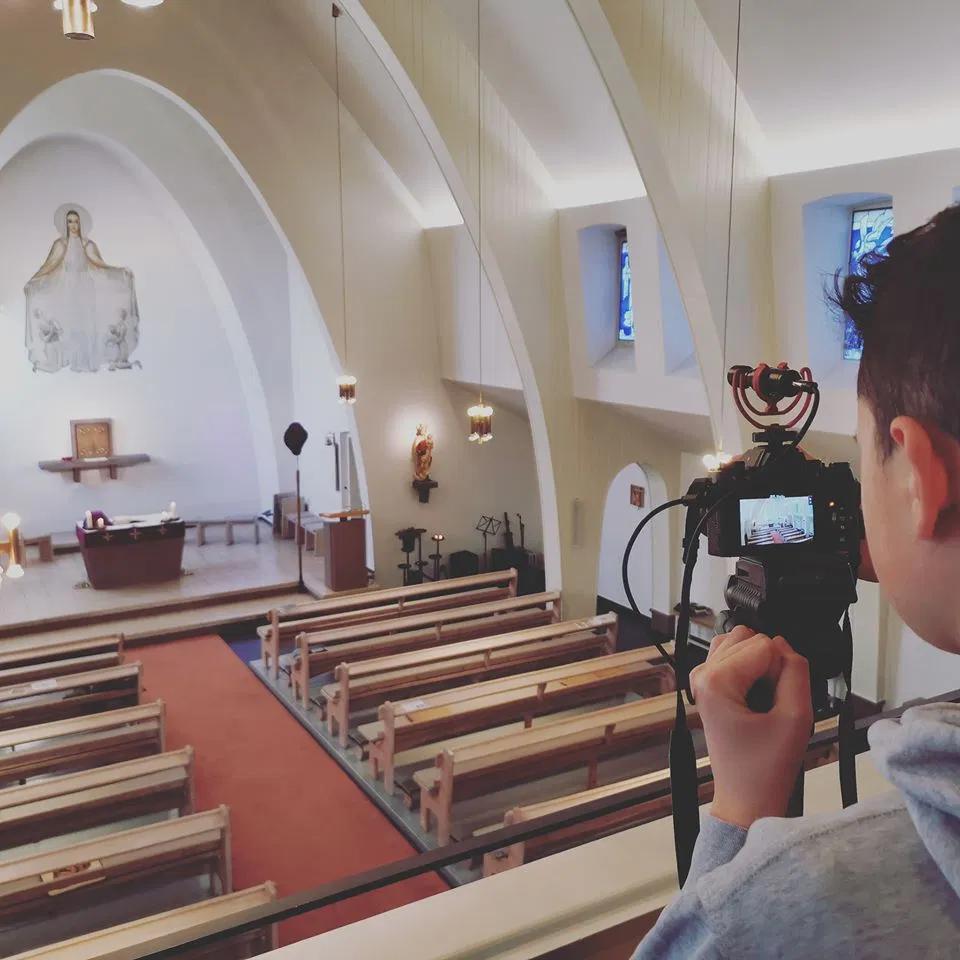 Microsoft Teams Church Videos