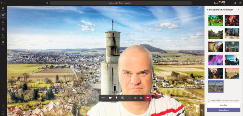 Felsberg Castle Microsoft Teams 1