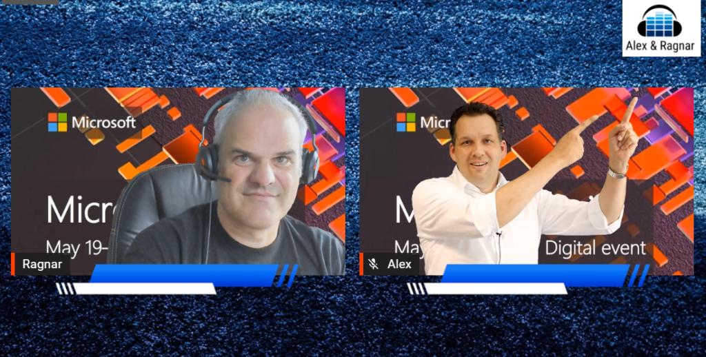 Alexander Eggers und Ragnar Heil Microsoft Build Conference