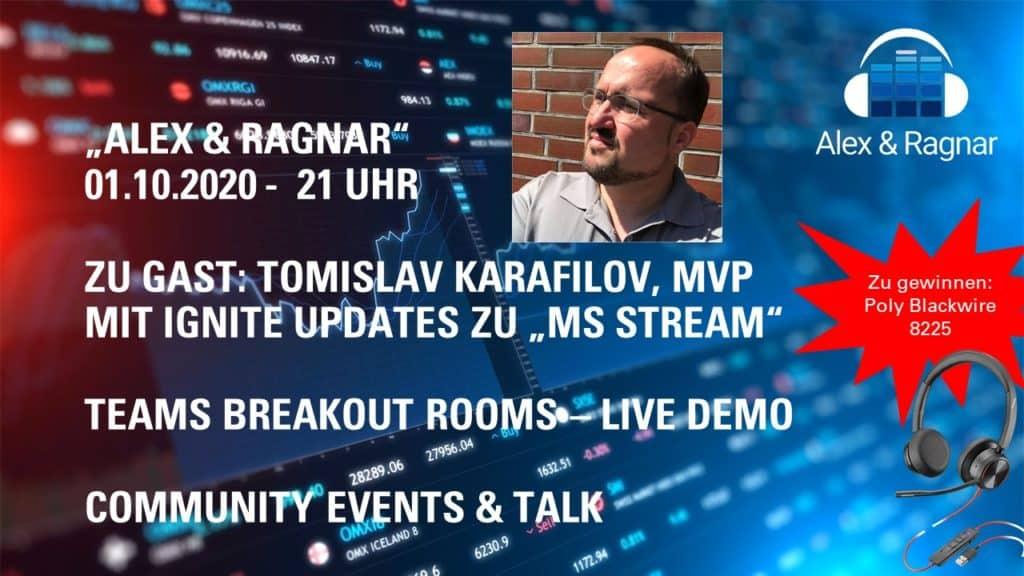 Microsoft Stream Ignite News mit Tomislav Karafilov