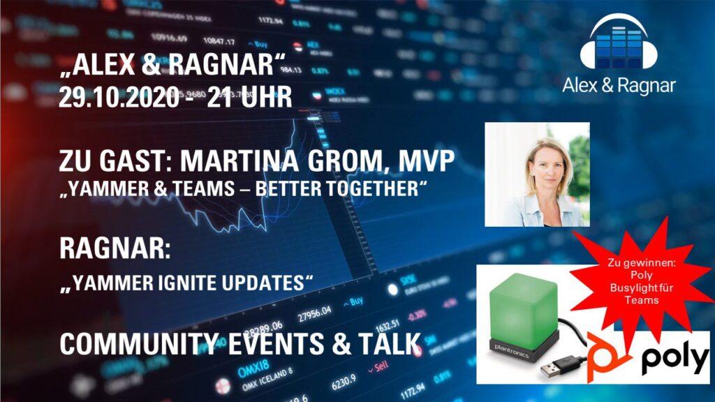 Martina Grom Yammer Microsoft Teams