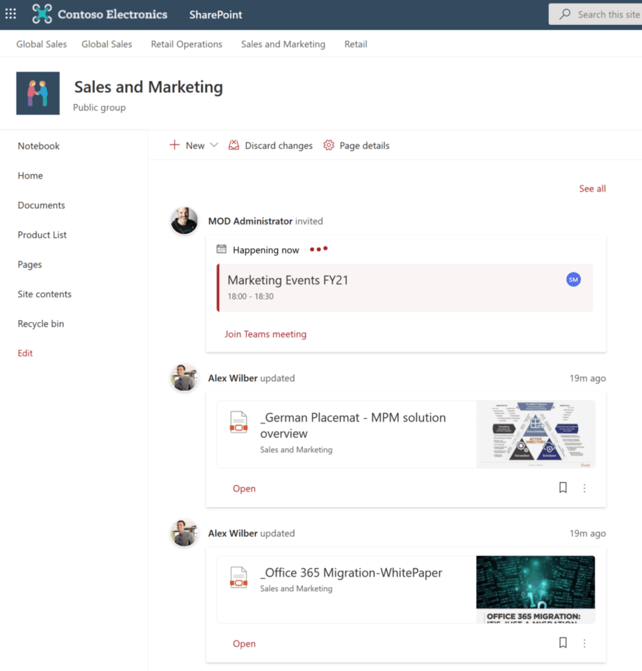 my feed web part SharePoint