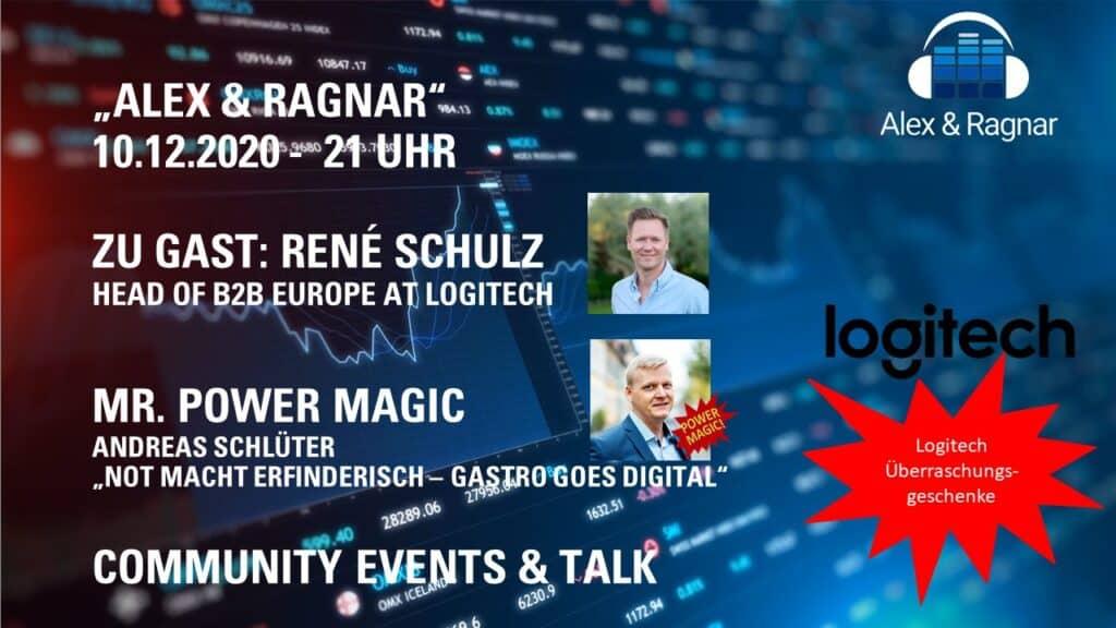 Rene Schulz von Logitech zu Microsoft Teams Video Konferenz Systemen