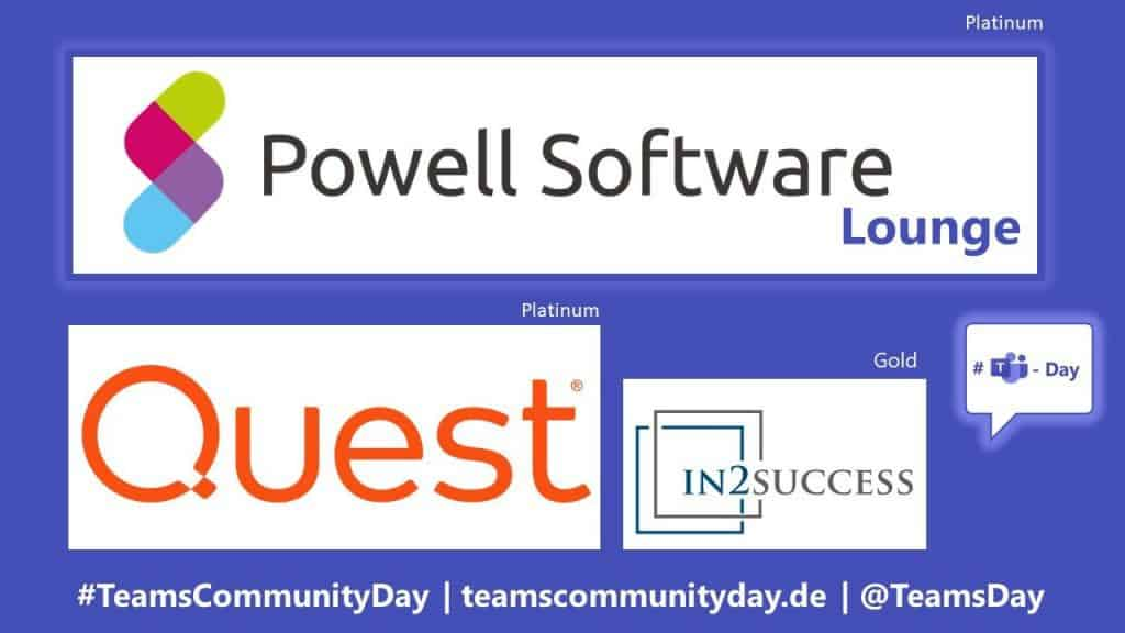 Teams Community Day Sponsoren
