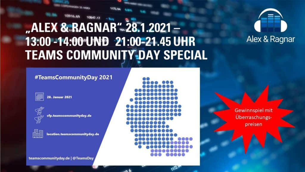 Teams Community Day - Alex und Ragnar Show