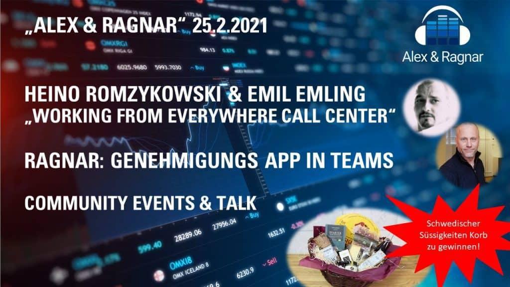 Alex Ragnar Show Emil Emling Tendfor