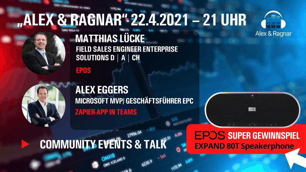 Alex und Ragnar #35 Matthias Lücke EPOS Microsoft Teams Rooms EXPAND
