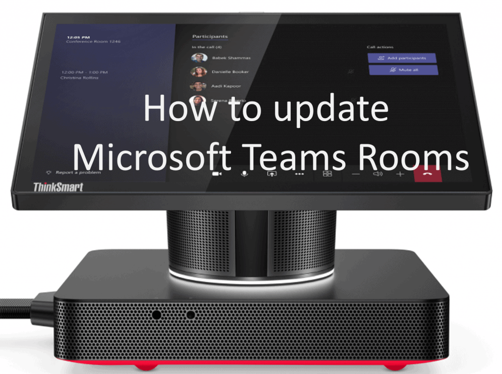 How to update Microsoft Teams Rooms