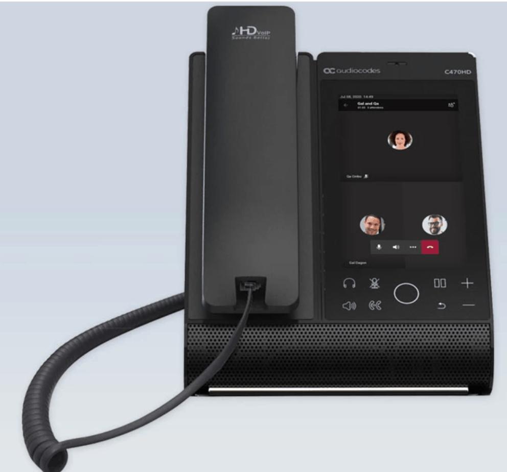IP Phone Audiocodes C470HD