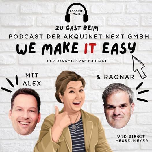 Microsoft Teams rockt Podcast mit Birgit Hesselmeyer und Alexander Eggers