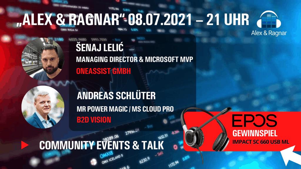 """""""Alex & Ragnar Show"""" #46 mit Senaj Lelic zu Microsoft Visio und Microsoft Teams"""