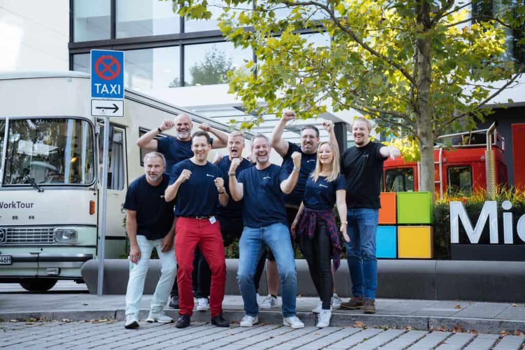 Hybrid Work Tour Microsoft München